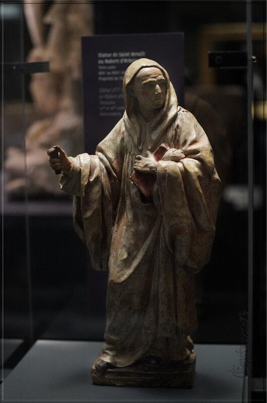 statuette robert d'arbrissel Fontevraud l'abbaye