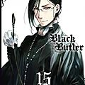 [parution] black butler tome 15