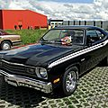 Plymouth duster 340 fastback coupe, 1973