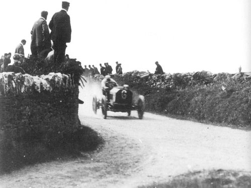 1904 gordon bennett trials, isle of man - clifford earp (napier 55hp) acc 1