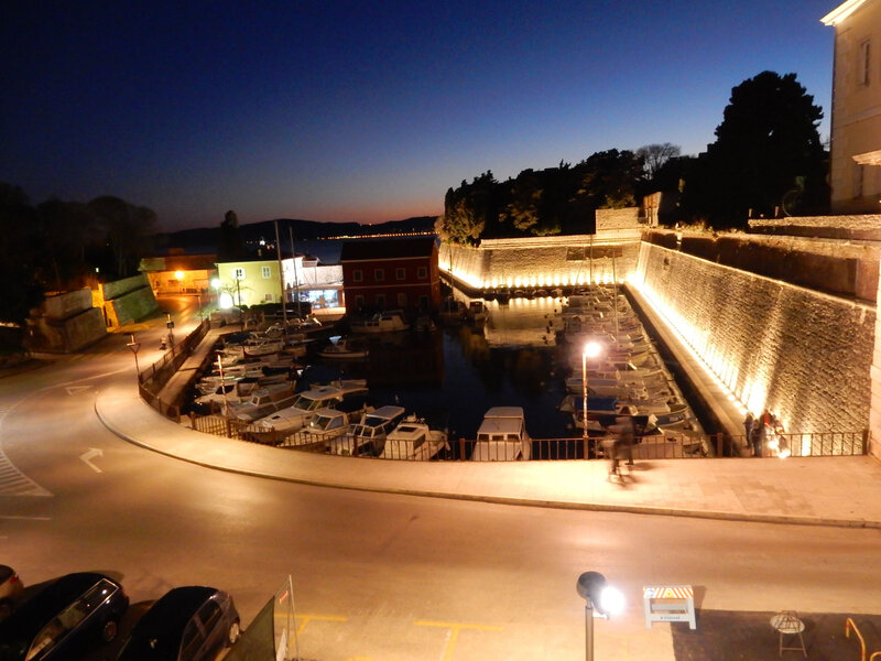 Le port médiéval de Fosa (Zadar) 19 février 2017, author Philippe Bensimon)
