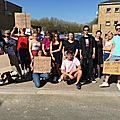 Mobilisation du jeudi 19 avril 2018 à avranches : du blocus du lycée littré au rassemblement intersyndical place littré