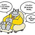 Le chat de geluck: ne rien faire