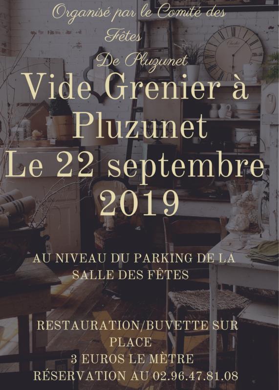 AFFICHE VIDE-GRENIER 2019