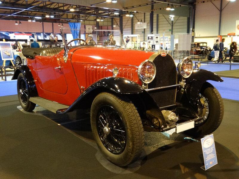 BUGATTI type 49 cabriolet Rolf Jankowski 1930 Strasbourg (1)