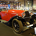 Bugatti type 49 cabriolet rolf jankowski 1930