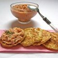 Rillettes de saumon et blinis