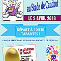 Chasse à l'oeuf CAUDROT 2 avril 2018