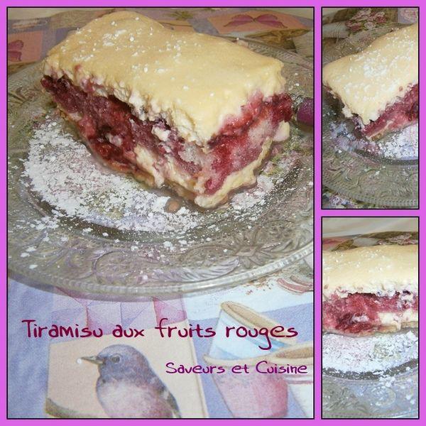 Tiramisu aux fruits rouges 1
