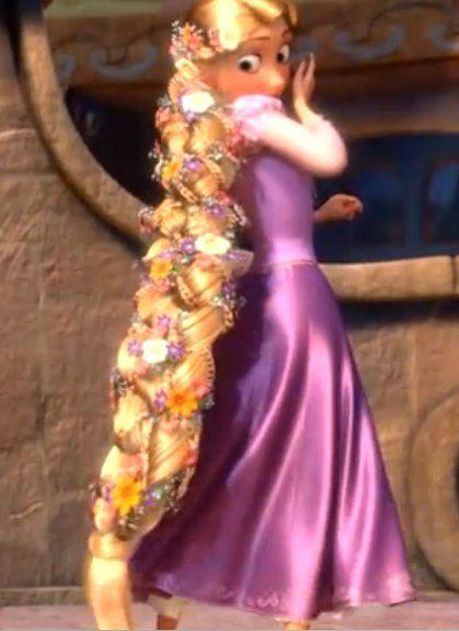 Tuto la perruque fleurie de raiponce les cosplays de lou for Bouquet de fleurs raiponce