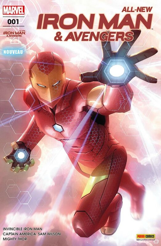 all new iron man & avengers 01