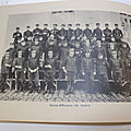 Ancien album photos ecole spéciale militaire de saint-cyr - promotions 1910-1912..1911-1913