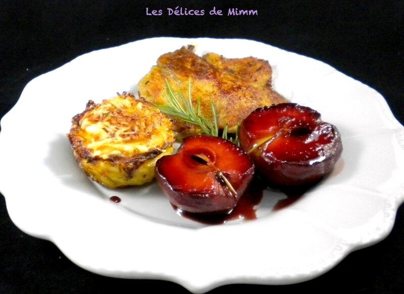 Cuisses de canard confit aux pommes d'amour 5