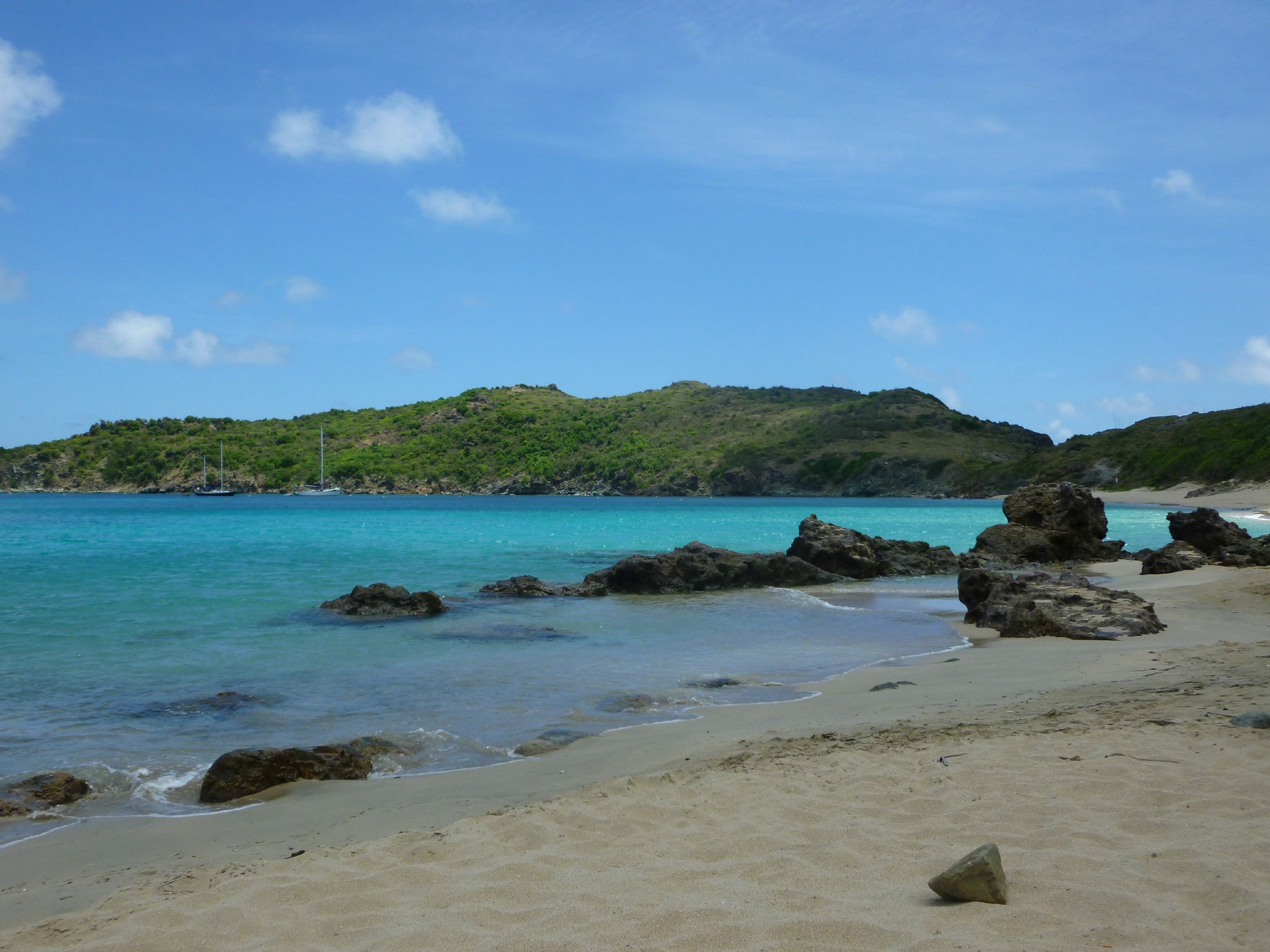 photo plage colombier