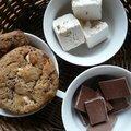 coockies nougat et chocolat