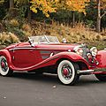 Mercedes-benz 540 k special roadster realizes $9.9 million to set new arizona auction record