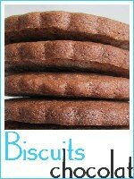 biscuits sablés au chocolat - index