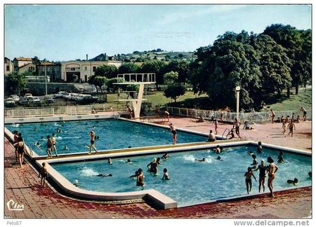 chatel piscine 1960