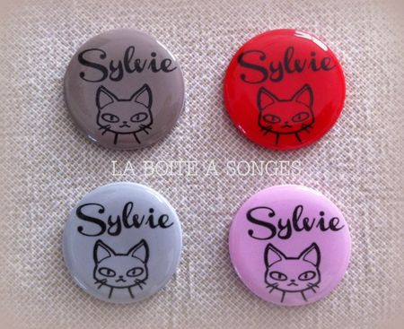 boutons sylvie