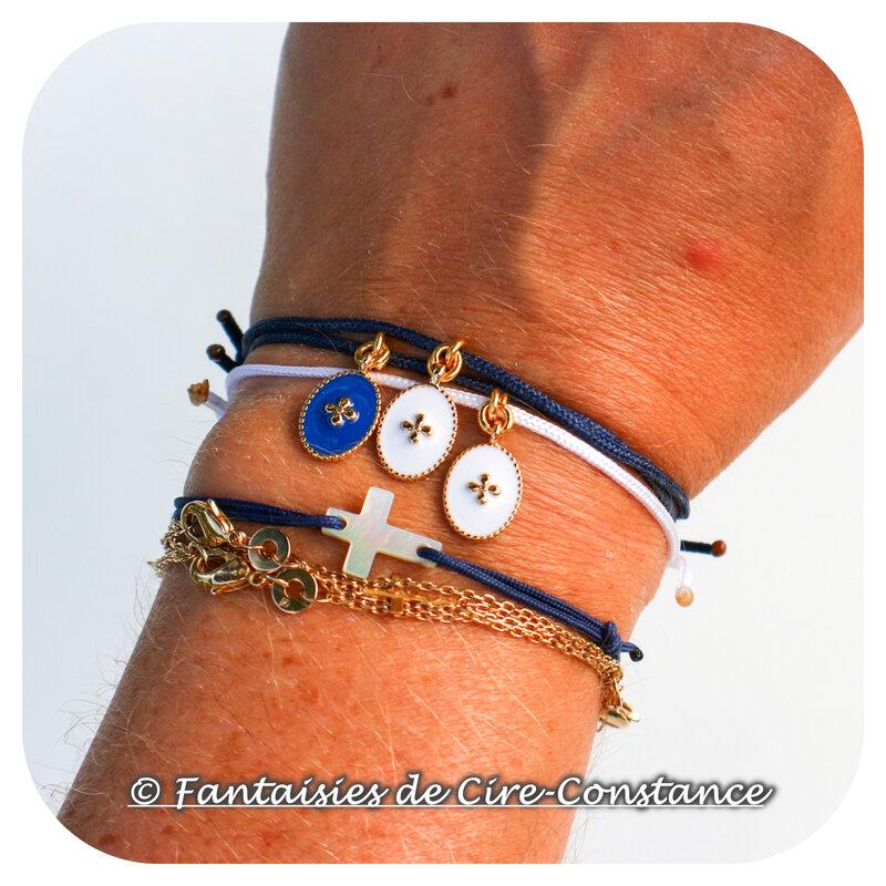 Bracelets Oremus ovales-5