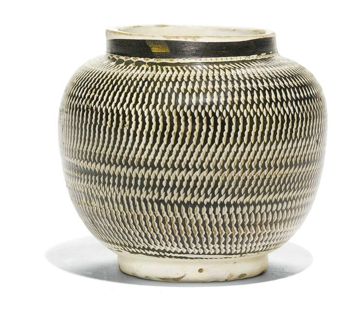 A 'Cizhou' 'Rouletted' jar, Northern Song dynasty