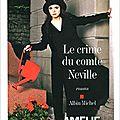 Le crime du comte neville d'amélie nothomb