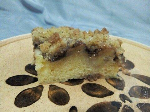 Crumb cake banane Nutella