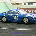 Alpine A110 White Point par Sea Sex and Slot