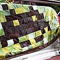 Un patchwork et des coussins pour la chambre du bébé # défi 13