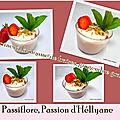 Verrines à la mousse fraises- gingembre - granola - mascarpone