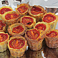 Bouchées tomates cerise moutarde