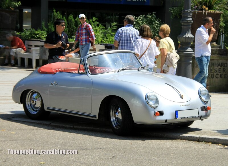 Porsche 356 1600 super roadster (37ème Internationales Oldtimer Meeting de Baden-Baden) 01
