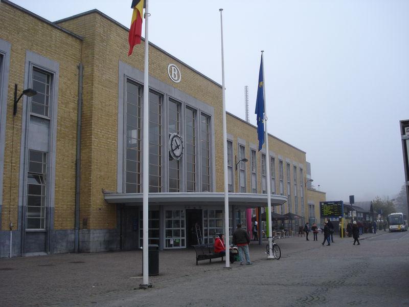 Bruges, la gare