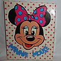 Minnie Mouse papier à lettre (2)
