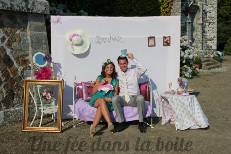 un studio photo photo booth pour votre v nement une f e dans la boite. Black Bedroom Furniture Sets. Home Design Ideas