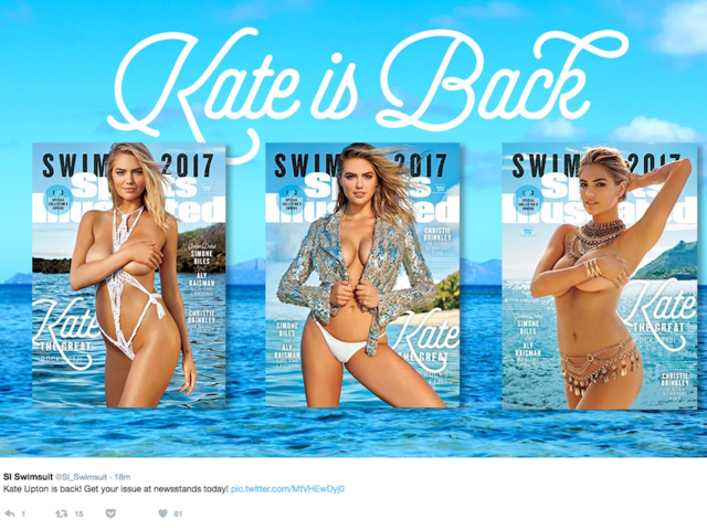 kate is back