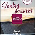 Ventes privées guy demarle....