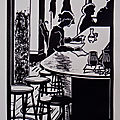 Solitude - Linogravure