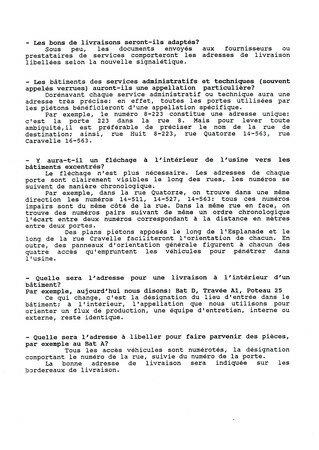© 1990 François-Noël TISSOT Une Identité Pour Demain ® Aubergenville RENAULT Usine Pierre LEFAUCHEUX à Flins Information des collaborateurs Pas de question sans réponse 2