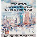 Future exposition à la mairie de meythet