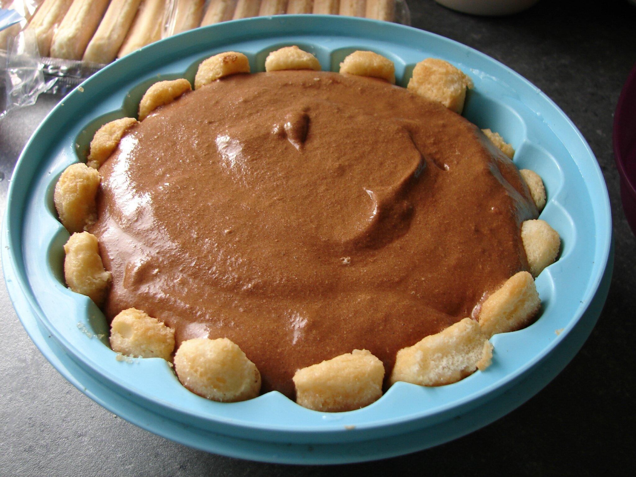 Recette Charlotte Au Chocolat Sans Oeuf la charlotte au chocolat - le monde de marie