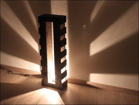 Luminaire En Bois De Palette La Boite A Woody