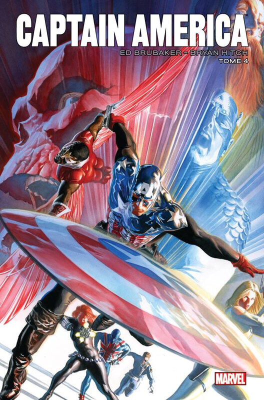 marvel icons captain america par brubaker 04