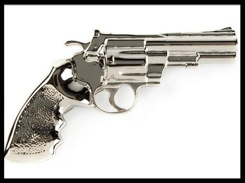 saint laurent broche revolver
