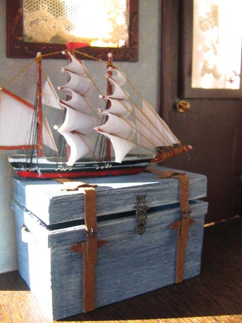 coffre et bateau
