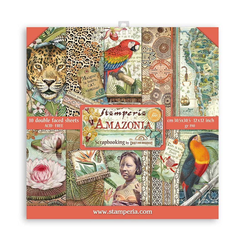 stamperia-amazonia-12x12-inch-paper-pack-sbbl83