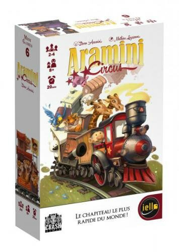 Boutique jeux de société - Pontivy - morbihan - ludis factory - Aramini circus