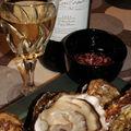 Huitres et vin blanc tout simplement