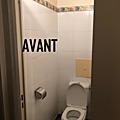 Rénover des wc avec du masqu'carrelage