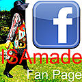 Retrouvez la page facebook d'isamade/find the facebook page isamade